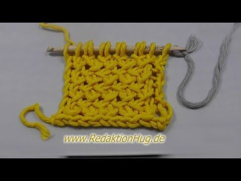 Knooking (IN GERMAN - If you are familiar with knooking, you can watch this video to learn this stitch... The video is very good... Deb)