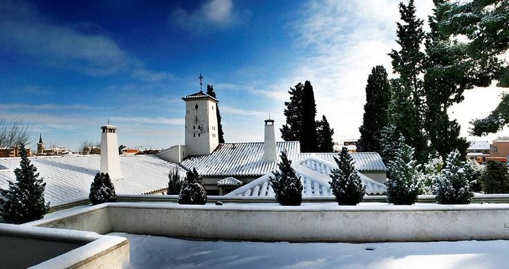 Hotel La Salve - Torrijos (Toledo) - Panorámica en un día de nieve