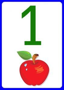 number-one-flashcards-for-kids