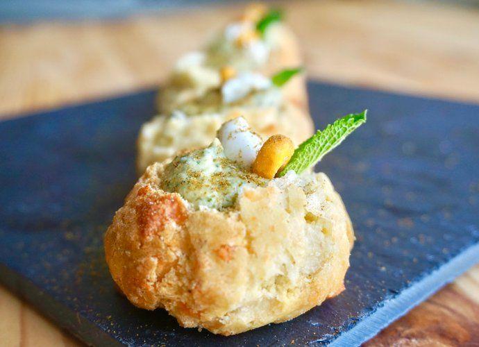 Hummus de menta para #Mycook http://www.mycook.es/cocina/receta/hummus-de-menta