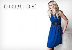 BLONDIE BLUE DRESS