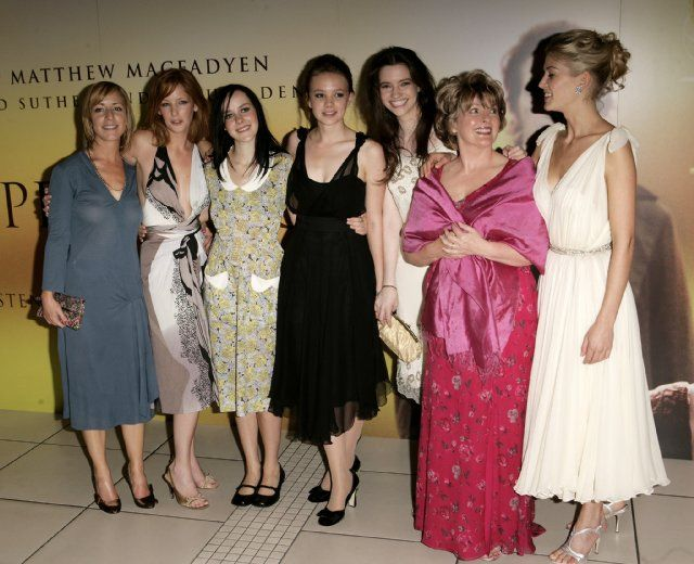 Brenda Blethyn, Claudie Blakley, Jena Malone, Rosamund Pike, Kelly Reilly, Talulah Riley and Carey Mulligan