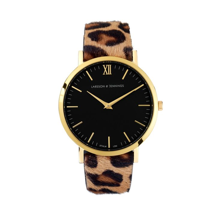 Must have: LARSSON AND JENNINGS VOGUE LEOPARD WATCH