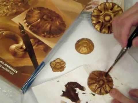 Эпоксидная смола (золотая) от SanginaRu - YouTube