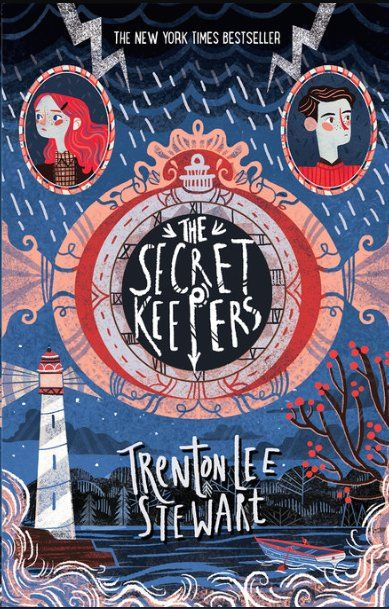 The Secret Keepers by Trenton Lee Stewart - cover art by Karl James Mountford #book #art