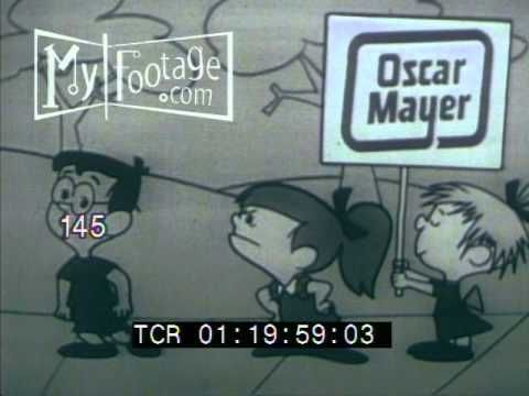 1960s TV COMMERCIAL: OSCAR MAYER WIENERS