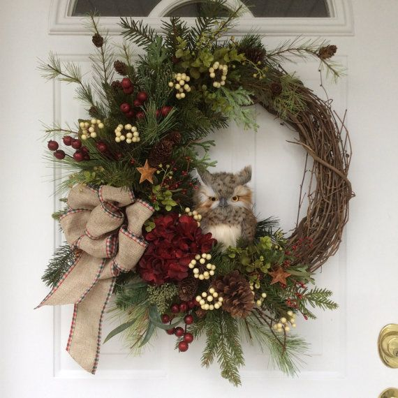 Best 20+ Owl wreaths ideas on Pinterest | Grapevine wreath ...