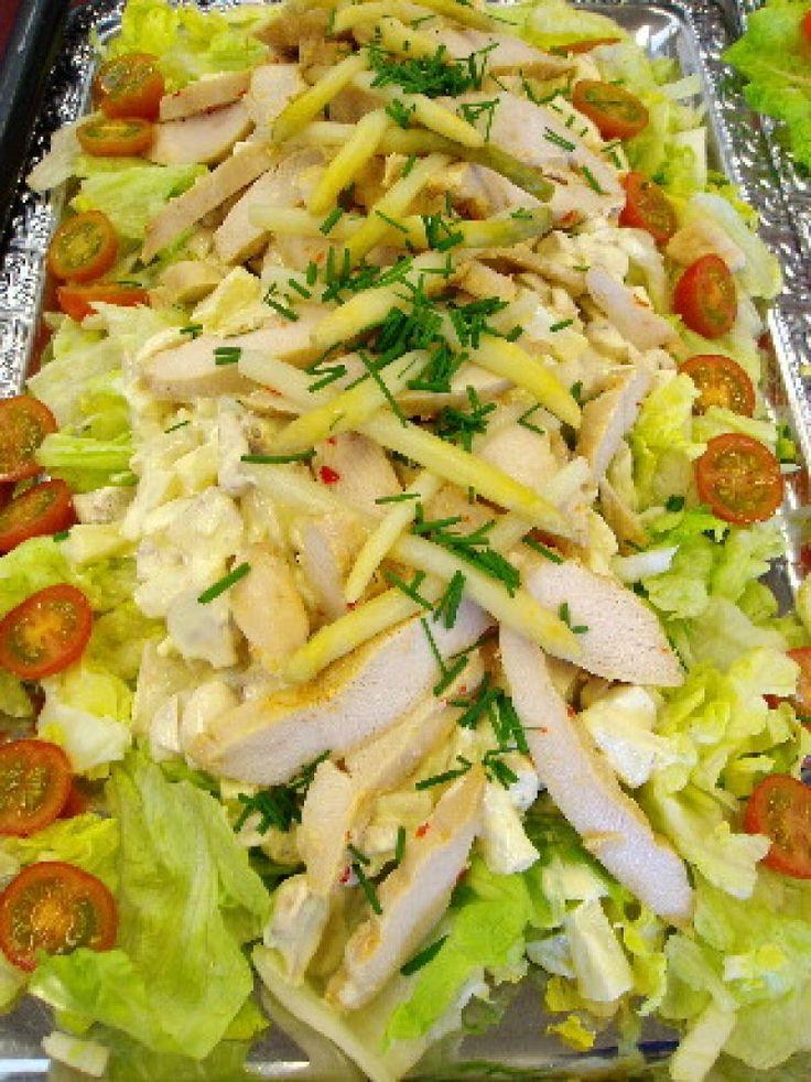 Kyllingesalat, Andet,Påske, Forret, Salat, opskrift