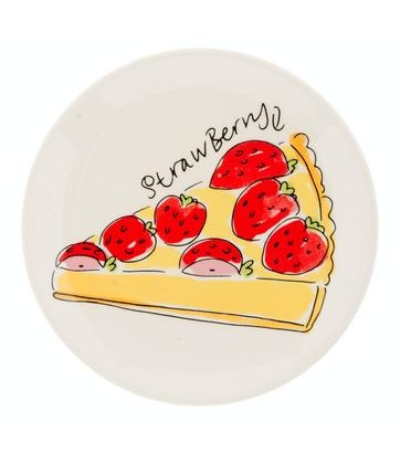 Blond Amsterdam - Strawberry - Pastry Plate