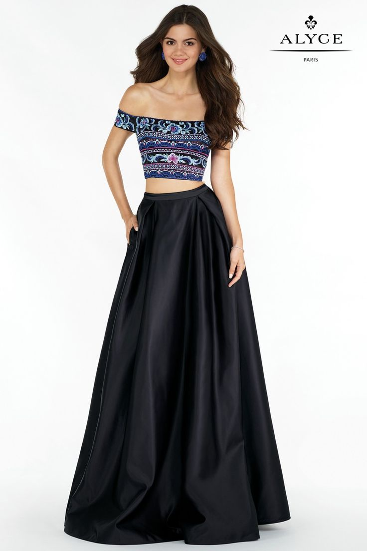 Black dress goals - Alyce Paris Prom 2017 Dresses Dress Style 6817 Alyce Paris Prom 2017 Black