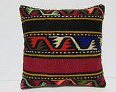 aztec pillow cover 18x18 moroccan style floor cushions bohemian cushion cover kilim pillow cover handmade pillow bohemian pillow cover 30034