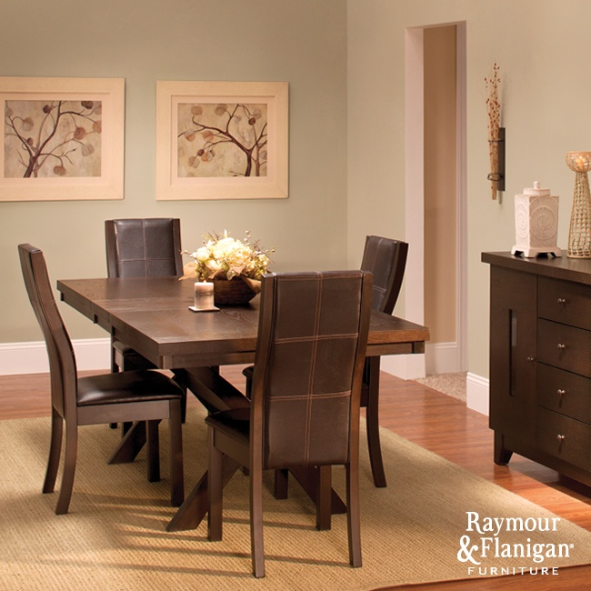 Gibson dining room this dining set is sleek for Sleek dining room tables