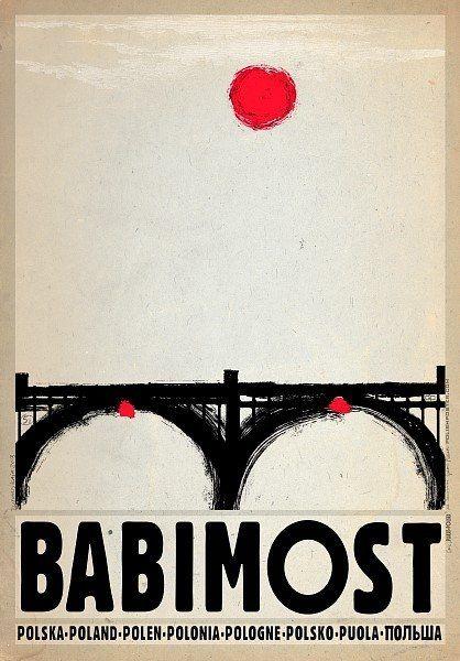 Zdjęcie numer 5 w galerii - Polskie miasta i miasteczka na plakatach Ryszarda Kai