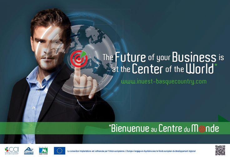 Le Centre du Monde, c'est un projet du pôle Invest Basque Country de la CCI de Bayonne. Intéresser les investisseurs en étant fun, le pari est réussi.