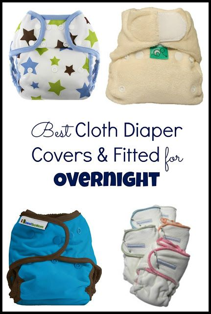 the little hedgehog: Best Cloth Diaper Covers & Fitted for Overnight