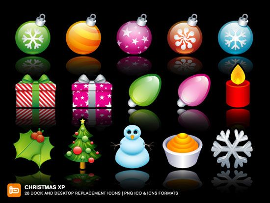 Christmas is coming and we would like to present especially for you 25+ Beautiful Christmas Icon Sets which you can use for your web site or your desktop.