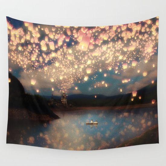 Love Wish Lanterns by Paula Belle Flores #walltapestry design @society6 #gifts #presents #giftideas #picoftheday #homefurnishings #chineselaterns #art #s6living #stunning #skyscape #artwork #photoart #photography #inredning #konst #taide #wallart #arte #artcollection #artcollectors #gallery #lantern #society6 #homedecor #interiordesign #love #lights #lamps #lanterns #night #lakescene