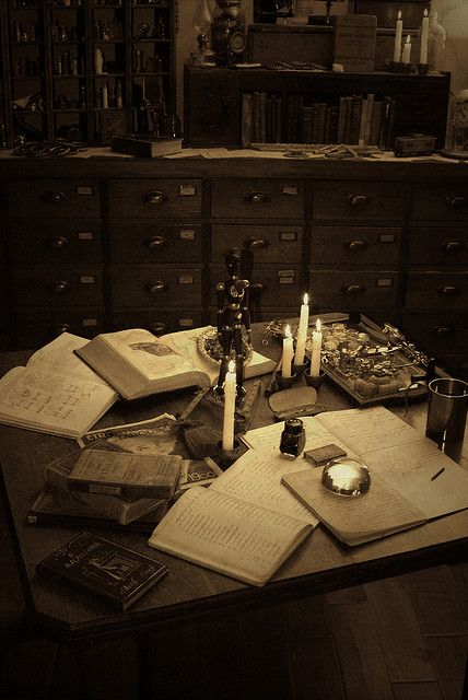 Victorian Laboratory/Study XVII | Flickr - Photo Sharing!