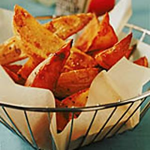 Oven sweet potato fries, healthy and good!