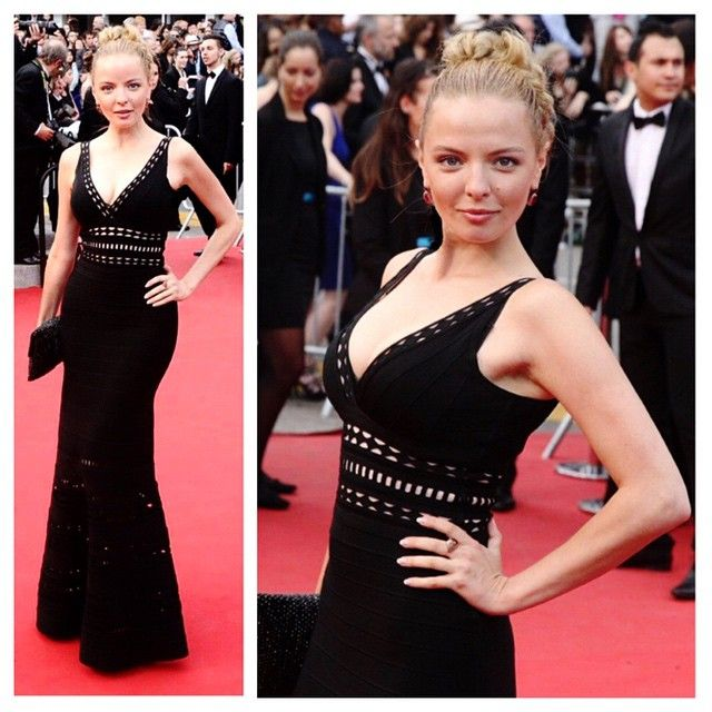 Marina Orlova - red carpet #cannes