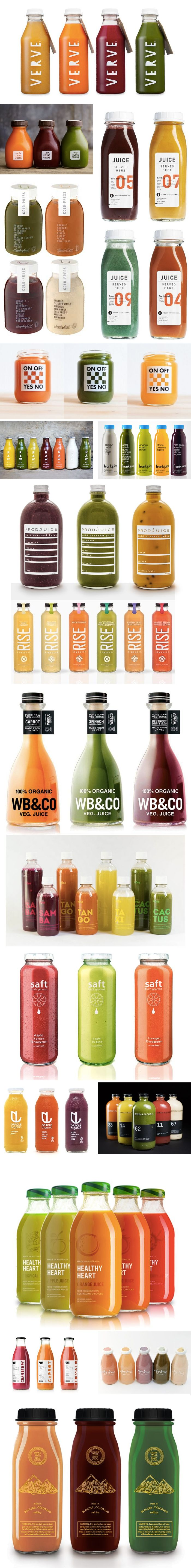 Juice packaging en masse
