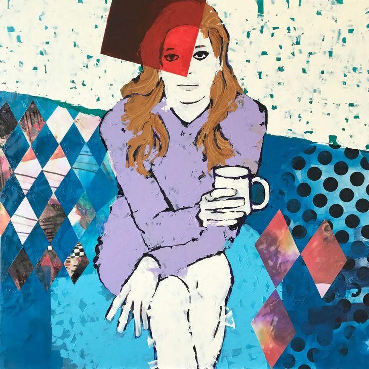 Signorina - http://www.contemporary-artists.co.uk/paintings/signorina/