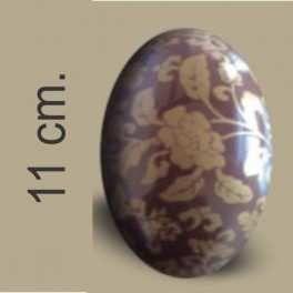 Categoría: Moldes Plasticos - Producto: Molde Huevo Pascua Con Transfer Nº 11 Rosas Oro - Envase: Bolsa - Presentación: X    4 Unid. - Marca: Lodiser