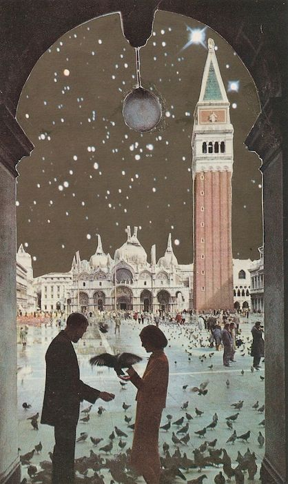 Venezia Magica - Collage by Andres Gamiochipi