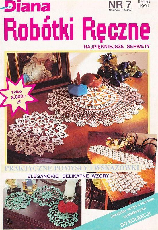 Журнал: Diana /Robotki Reczne №7 1991