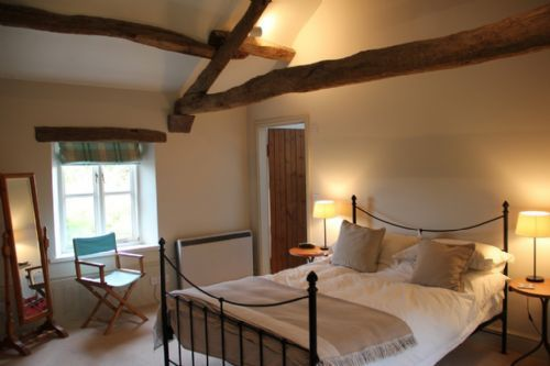 John Peel House, Ruthwaite, master bedroom, Lakes Cottage Holidays