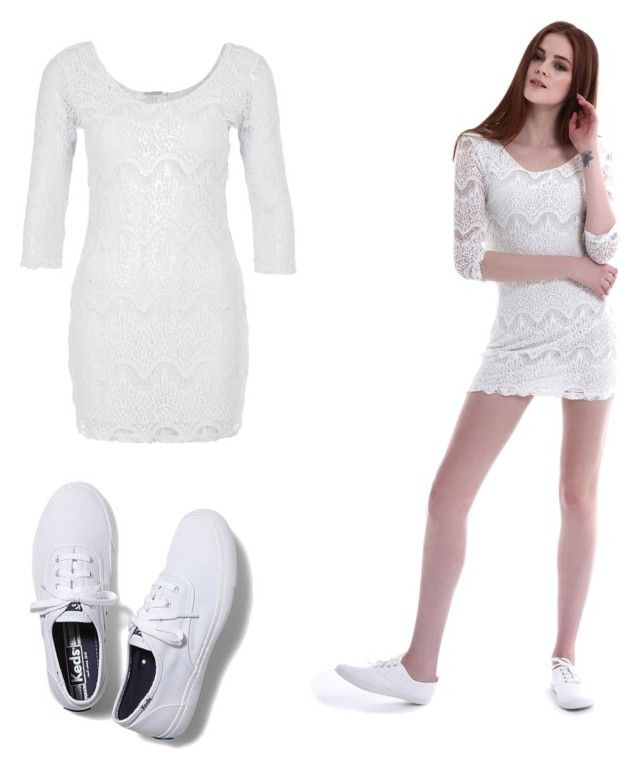 Untitled #6 by bianca-ciobanu-1 on Polyvore featuring beauty and Keds