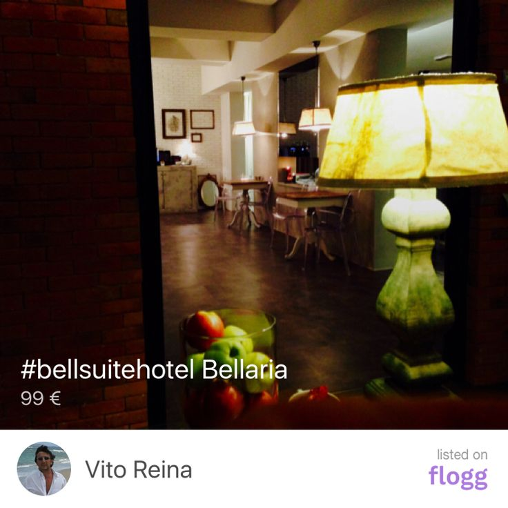 #bellsuitehotel Bellaria listed by Vito Reina https://www.flogg.com/i/89002b32