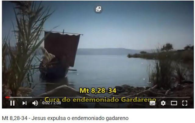 O Endemoniado Gadareno Biblia Sagrada Biblia Sagrada Sagrada