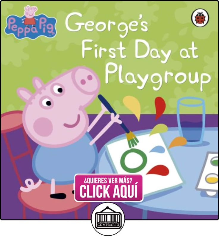 Peppa Pig: George's First Day at Playgroup Ladybird ✿ Peppa Pig - Peppa La Cerdita ✿ ▬► Ver oferta: http://comprar.io/goto/B00APK5F5A