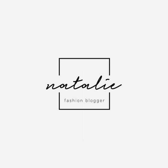 Square Logo, Signature Logo, Modern Logo Design, Branding, Business Logo, Premade Logo, Brand Identi