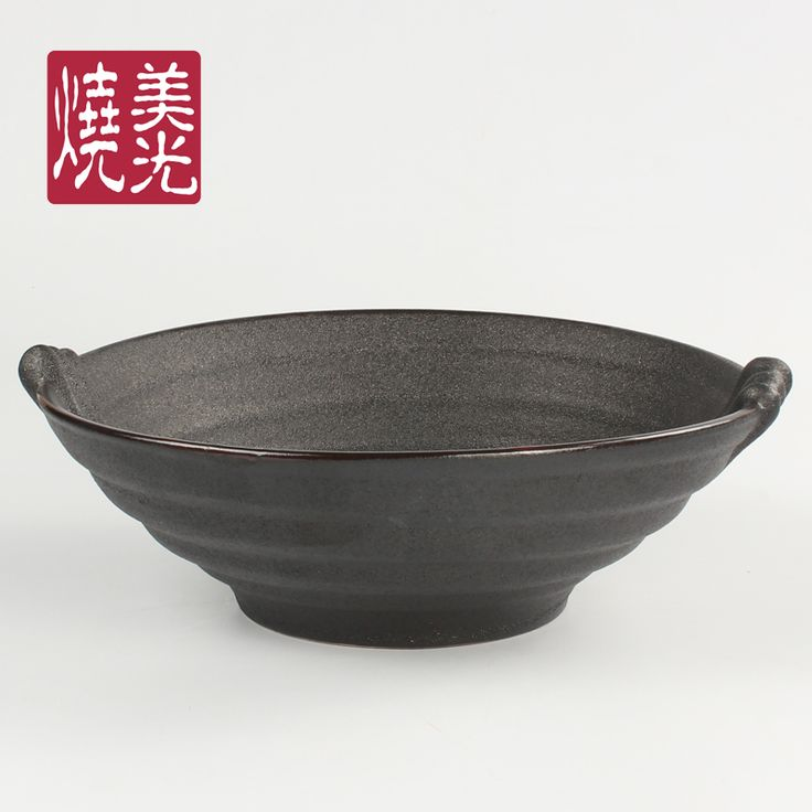 Unique restaurant tableware&stoneware serving bowl E581-B-12003 Size: diameter 10 inch and 11.5 inch