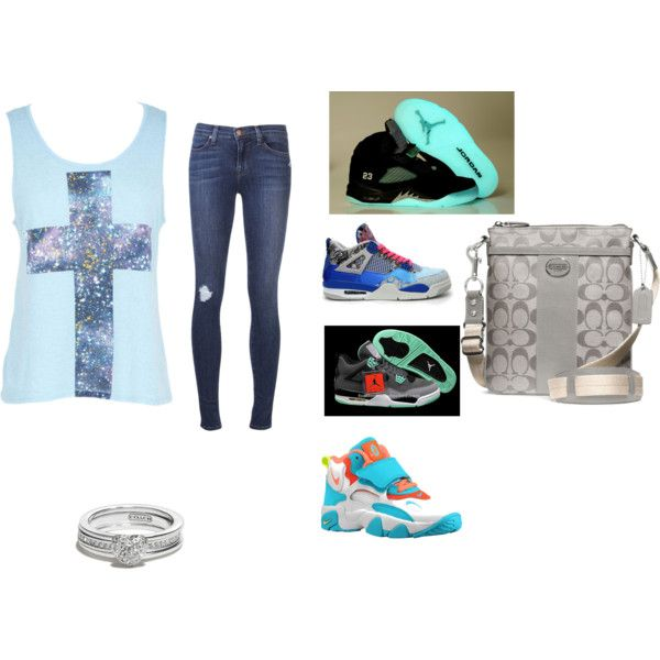 ed6eaf033c05 ... scwagg by pologurl12 on polyvore cheap air jordan 4 green glow only 59 .