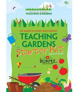 Teaching Gardens program for Gardening with Kids from the American Heart Association