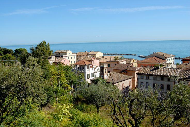 Panoramiche di Pedaso, centro abitato. #marcafermana #pedaso #fermo #marche