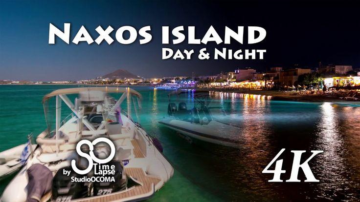 4K Timelapse & Hyperlapse at Naxos Island, Cyclades, Greece