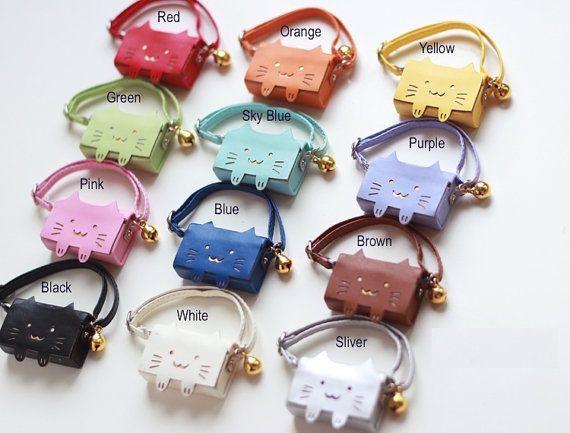 Kitty Cat Handbag For  Blythe  azone Momoko Lati by DollyHoly