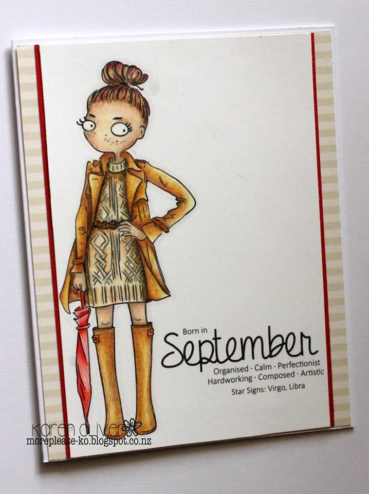 LOTV - Thoroughly Modern Misses September by Karen Oliver
