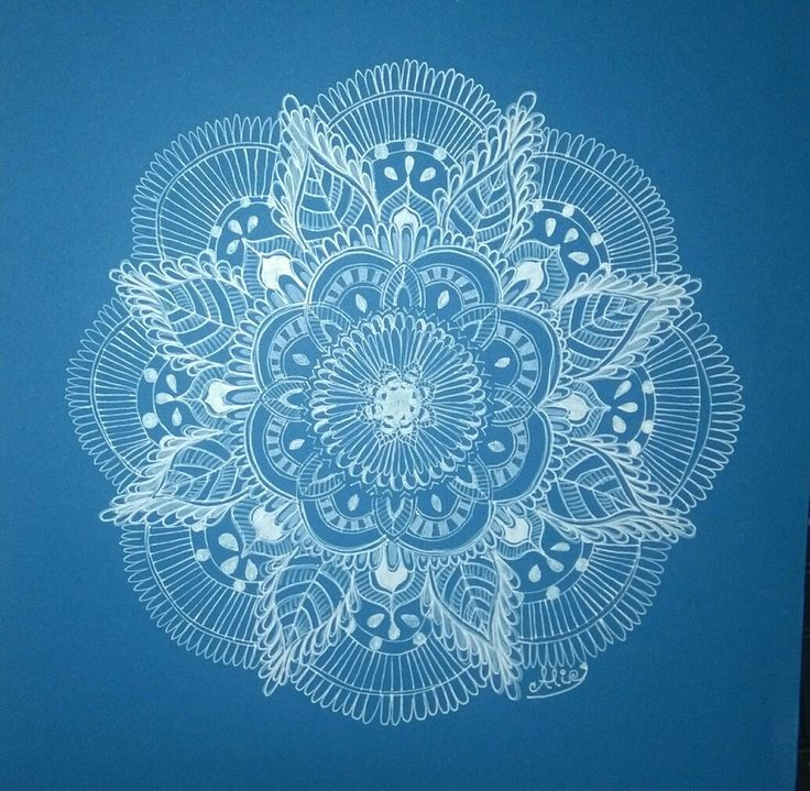 #ByMyHand Winter mandala