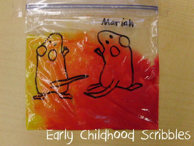 Early Childhood Scribbles: Mouse Paint - Color Mixing