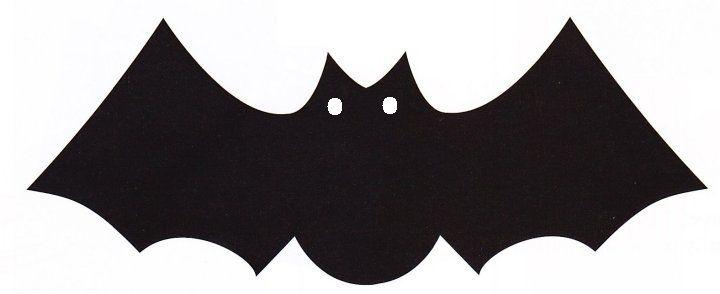 Halloween slinger maken met vleermuis en lichtjes