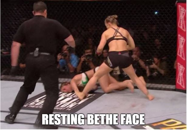 Knockout! Ronda Rousey vs Bethe Correia full fight video highlights from last night: UFC 190 - MMAmania.com