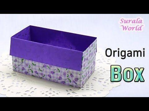 Origami # – #Rectangular #Box # (Wie #a #Box #machen,    – Korb und Kiste – #Box… – Einrichtungsideen dıy