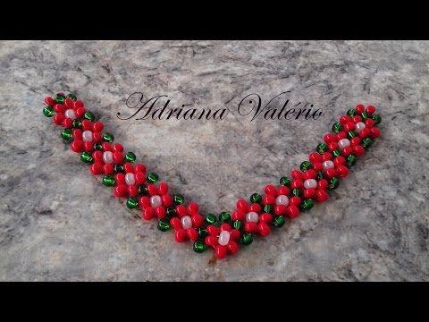 Trama de miçanga colorida para chinelo havaiana! Parte 1! ❤ - YouTube