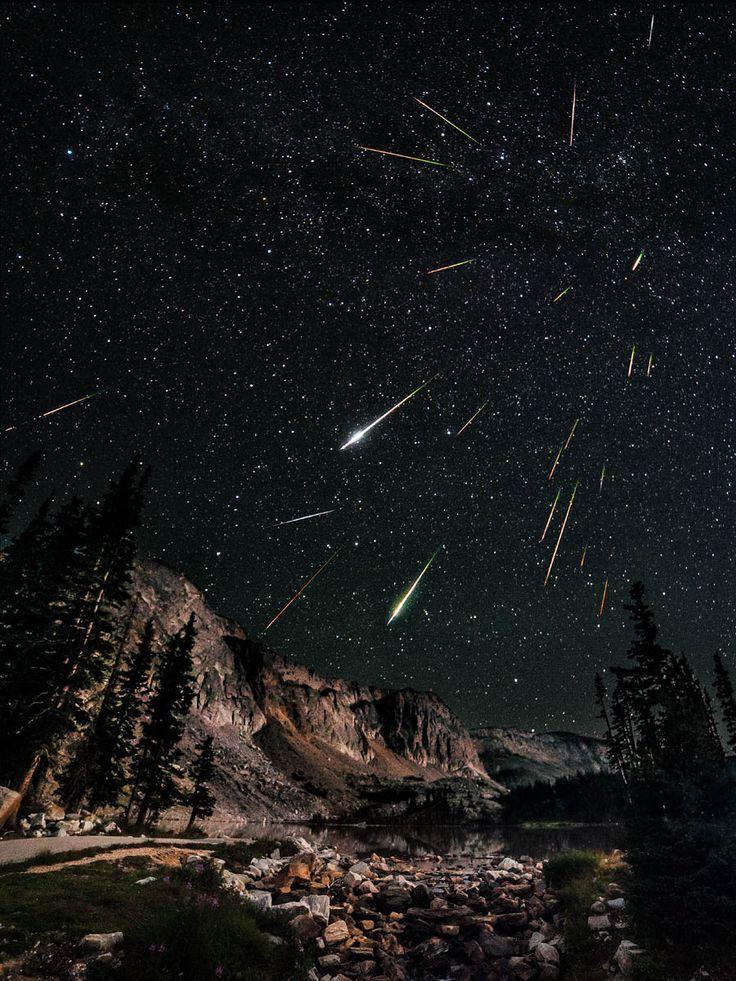 ALLPE Medio Ambiente Blog Medioambiente.org : Las Perseidas, lluvia de fuego sobre Wyoming.
