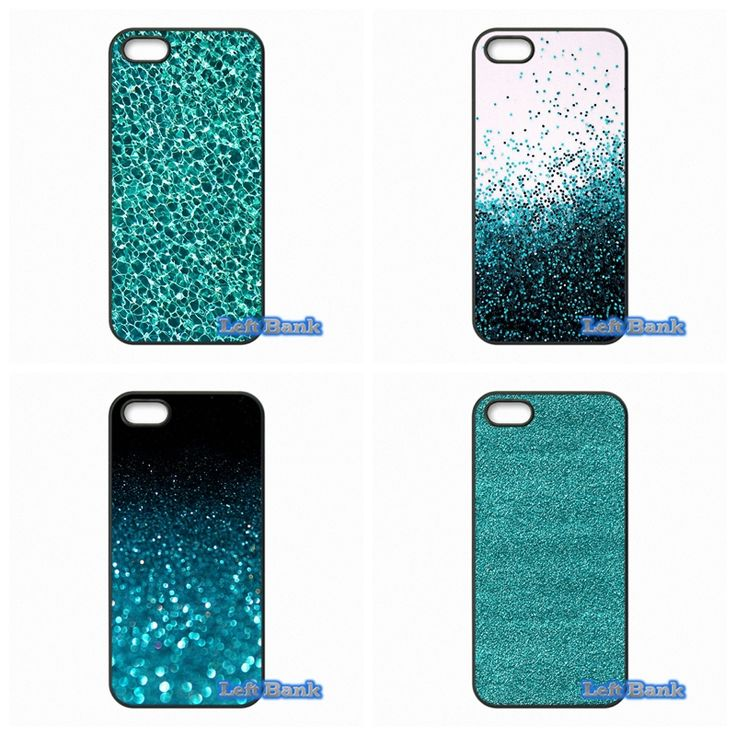 Teal Blue Glitter Amazing Phone Cases Cover For Blackberry Z10 Q10 HTC Desire 816 820 One X S M7 M8 M9 A9 Plus